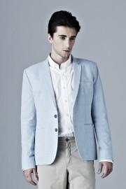 Greyscale Jeans Blazer
