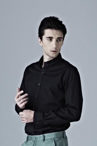 Greyscale All Black Shirt