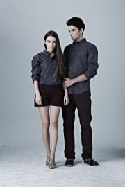 Boyfriend Shirt- Matt Grey